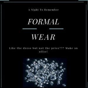 Dresses & Skirts - Formal Wear